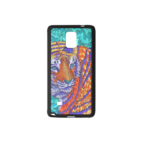 clip transparent stock Customizable Trippy Drawing Tiger Rubber Case for Samsung Galaxy