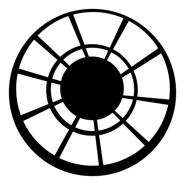 banner black and white library Portal