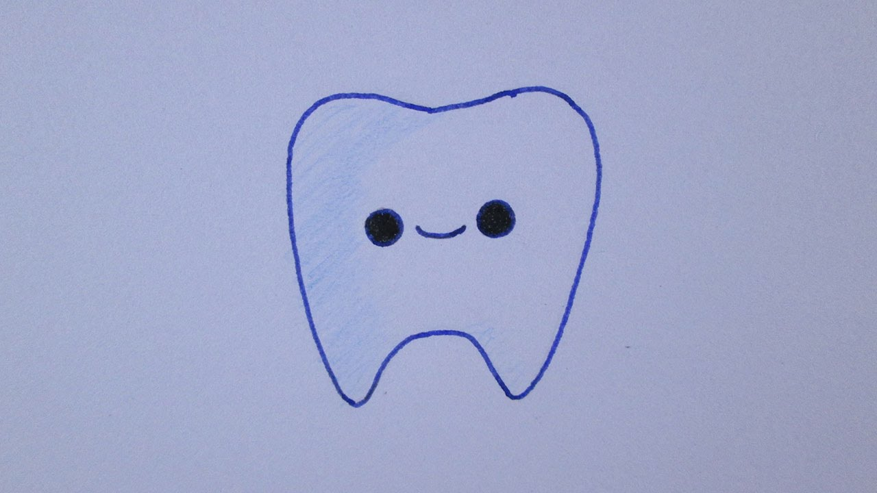 clip art library library How to draw a. Drawing tooth