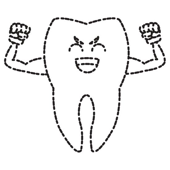 transparent library Drawing tooth cute. Cartoon icons by canva
