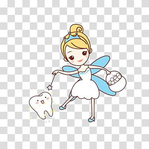graphic free library Drawing tooth elf. Fairy magic transparent background