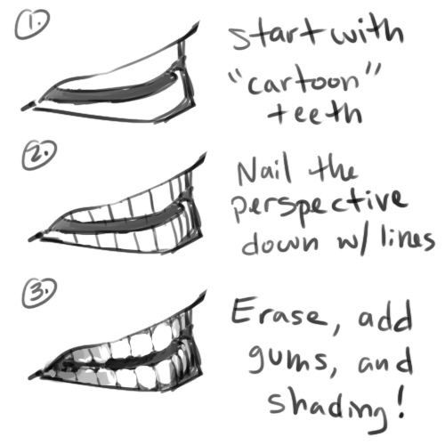 banner library download Mouth teeth face body. Drawing tooth reference