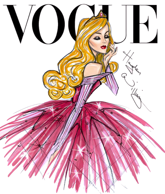 vector royalty free Drawing topic disney princess. Princesas vogue png illustration