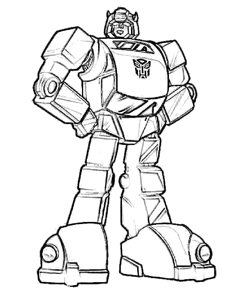 picture freeuse stock Bumblebee Transformers Coloring Pages