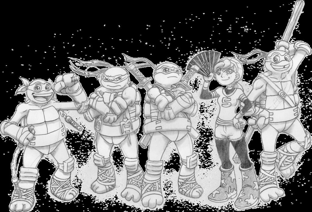 image royalty free Teenage Mutant Ninja Turtles