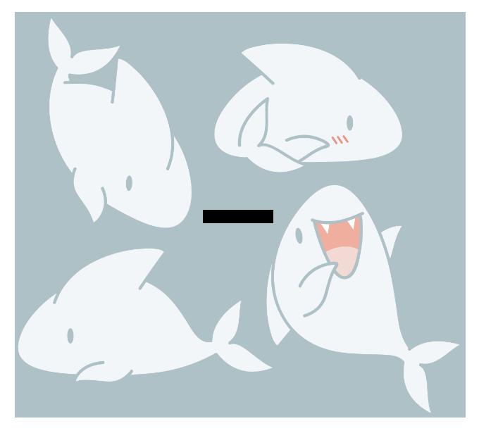 jpg stock Chibi Shark by Daieny