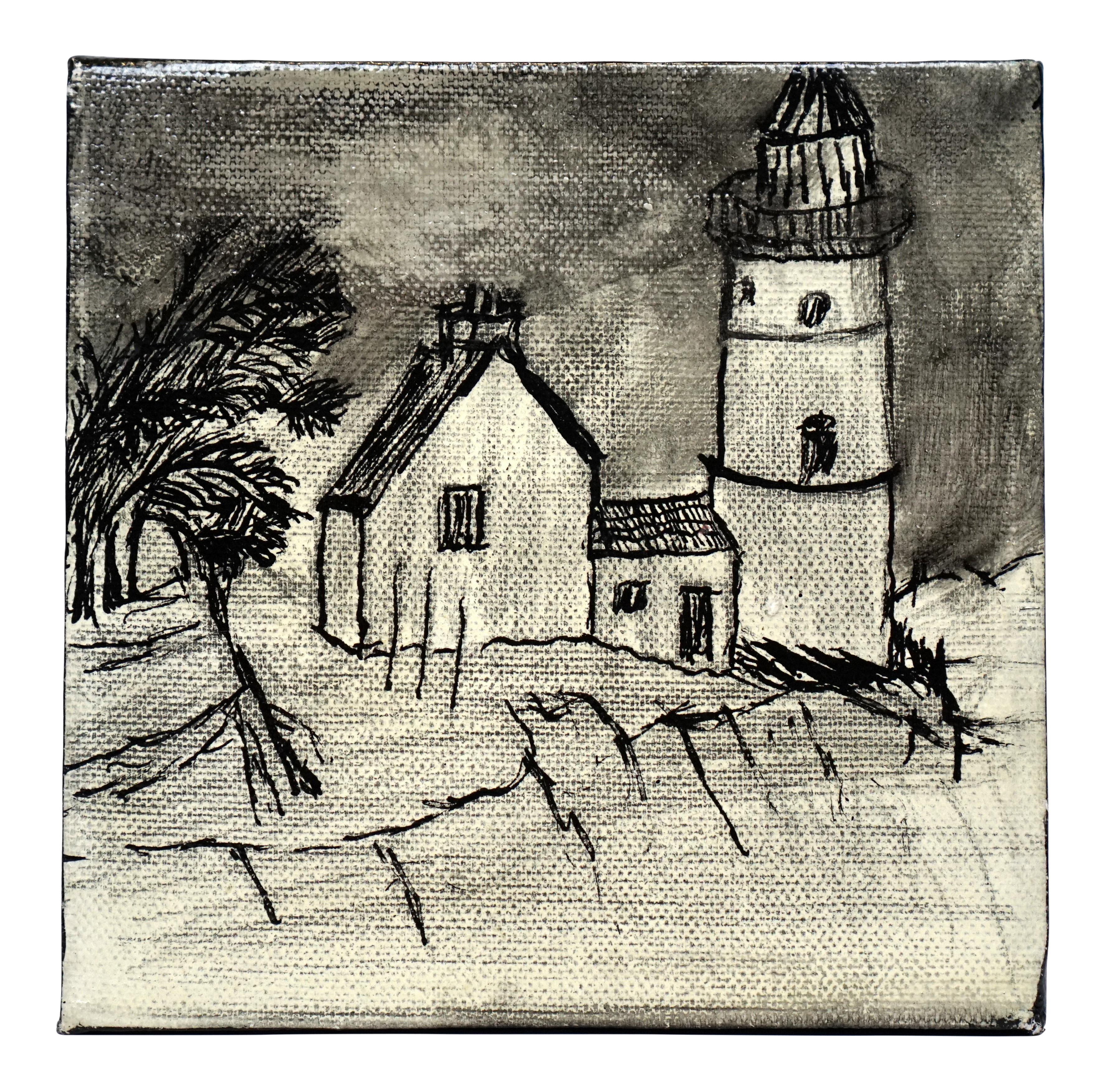 png royalty free Drawing charcoal scenery. Collection of free house