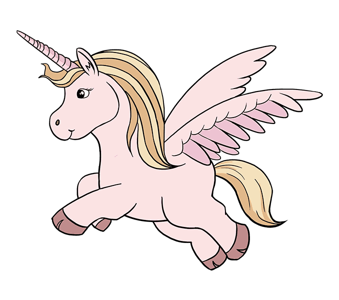 clip art free Pictures of unicorns to draw how to draw a unicorn in a few easy