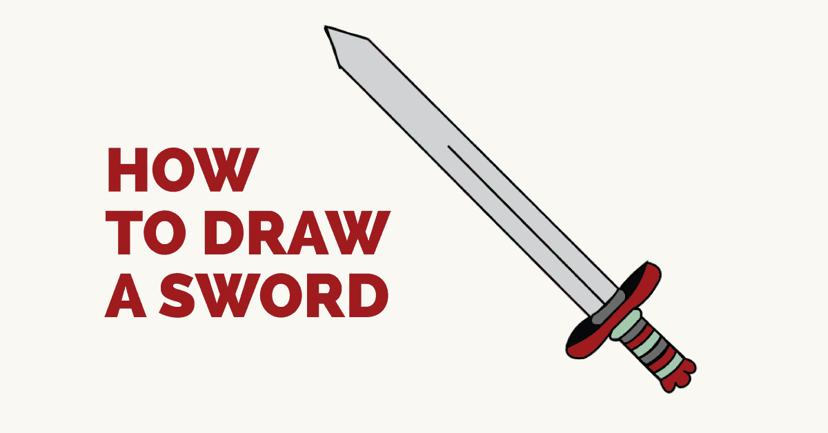 clipart library stock Drawing s sword. How to draw a