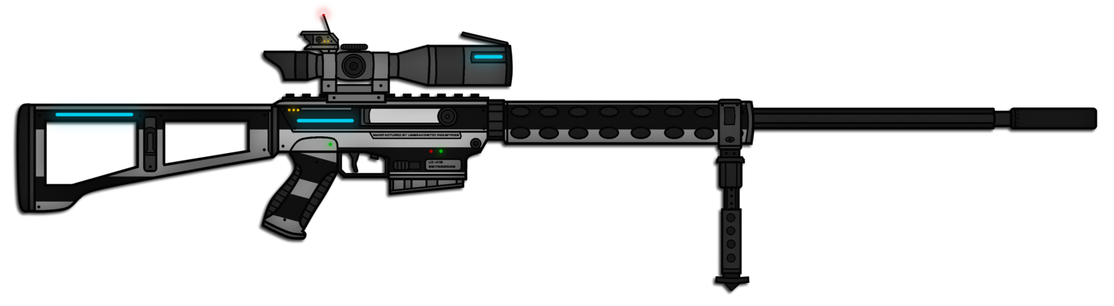 transparent download guns drawing sniper #97345365