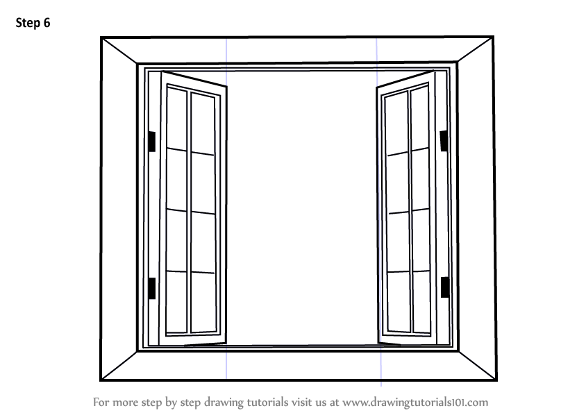 vector royalty free library Learn how to draw. Windows drawing