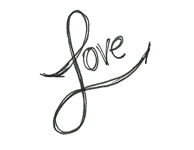 transparent download drawing word love #95897758