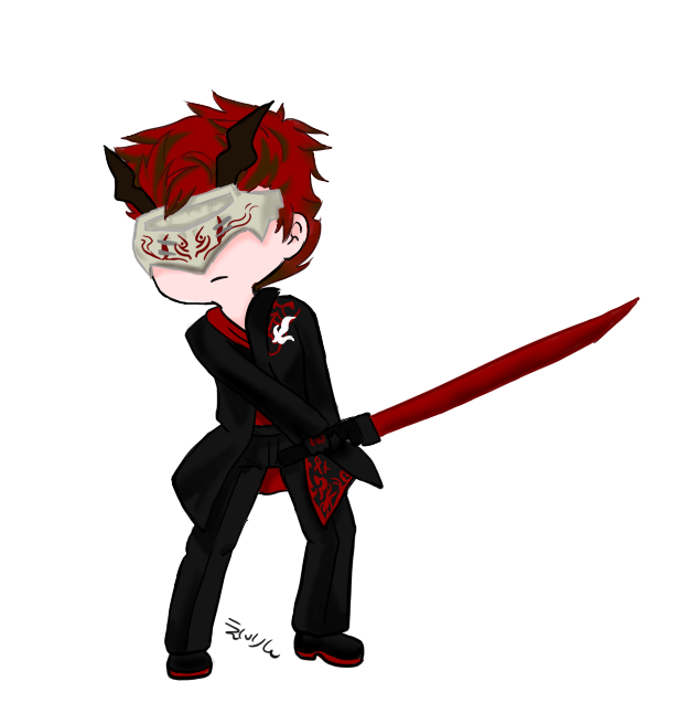 jpg transparent Adam RWBY Chibi by EirinTokigawa on DeviantArt