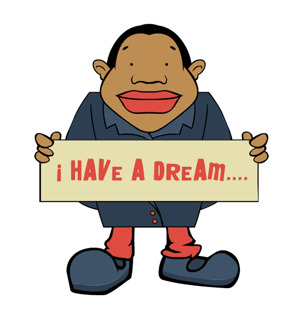 royalty free download I have a dream clip art