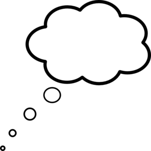 svg black and white library Cloud . Dream clipart.