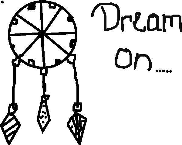 clip freeuse download Dream vector black and white. Dreamcatcher clipart logo free.