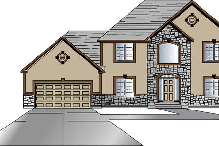 png freeuse beautiful house drawing
