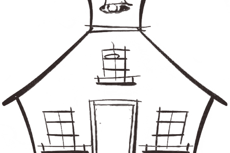 clip art library mansion drawings easy
