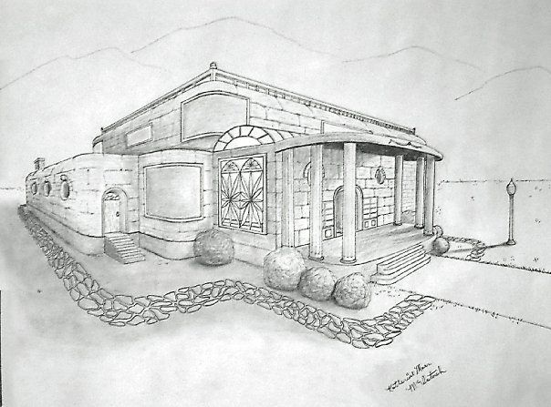 clip free library how to draw your dream house