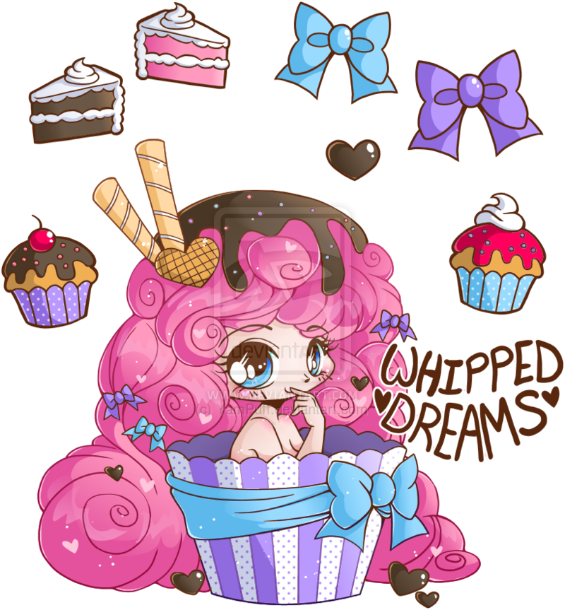 image transparent library Whipped dreams commission by. Baking drawing chibi