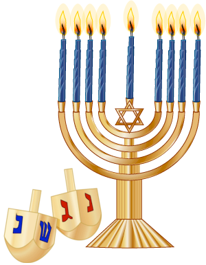 clip art transparent library Hanukkah the jewish festival. Kwanzaa clipart menorah.