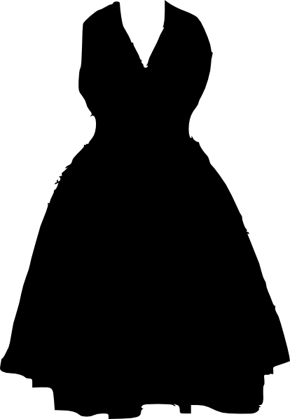 image freeuse download Gown clipart small dress. Clip art at clker