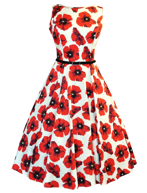 picture free Poppy Dress transparent background