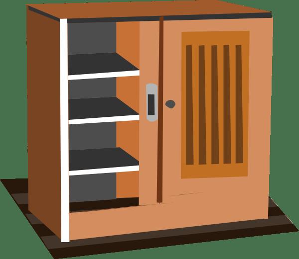 clip Kitchen Cabinet Art