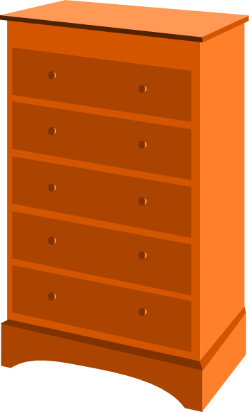 png freeuse library Chest Of Drawers Clip Art at Clker