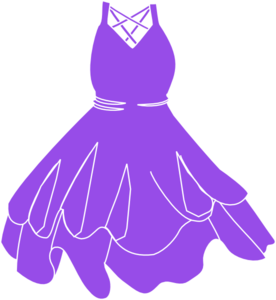jpg freeuse Gown clipart violet dress. Free cliparts download clip