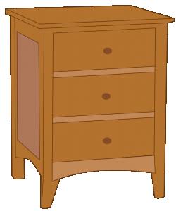 vector library Dresser Clip Art Download