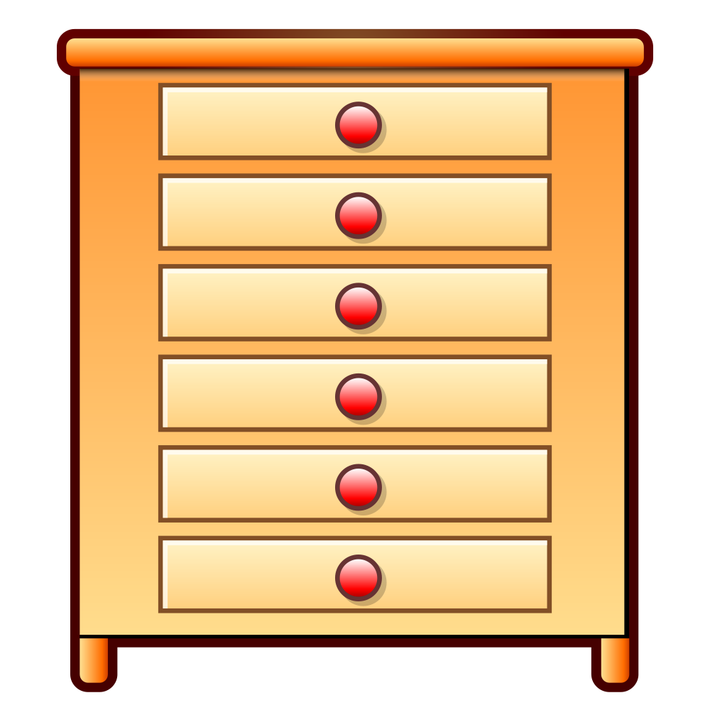 picture royalty free library dresser clipart transparent #78371551