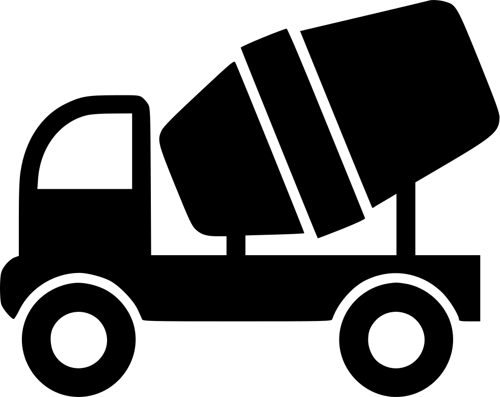 clip art transparent Cement Mixer Truck Svg Png Icon Free Download