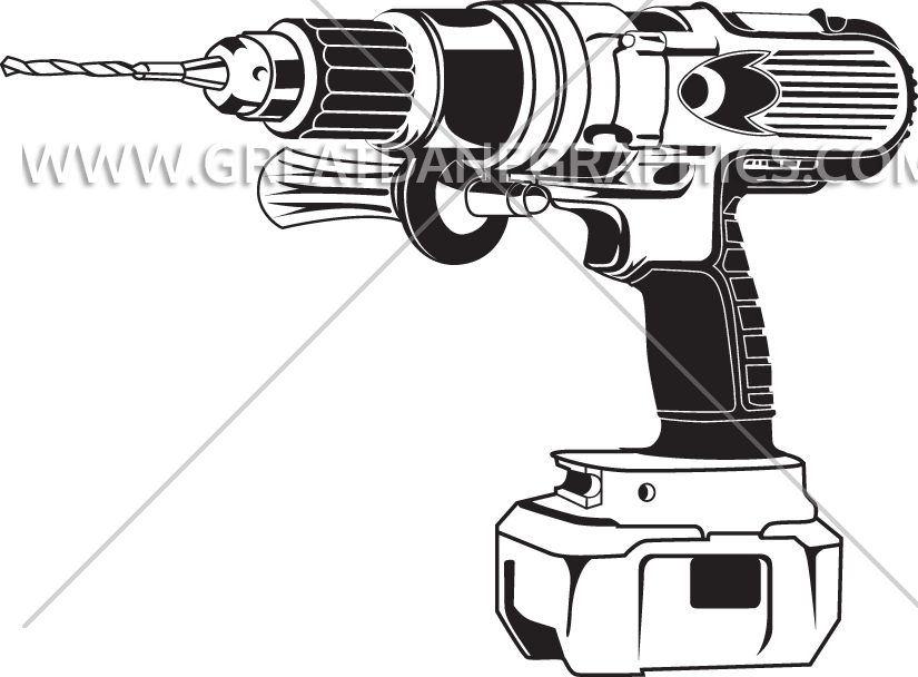 graphic download Drill Outline