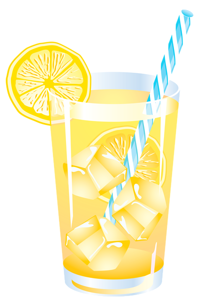 graphic black and white download Summer drink png vector. Lemon clipart frozen lemonade.
