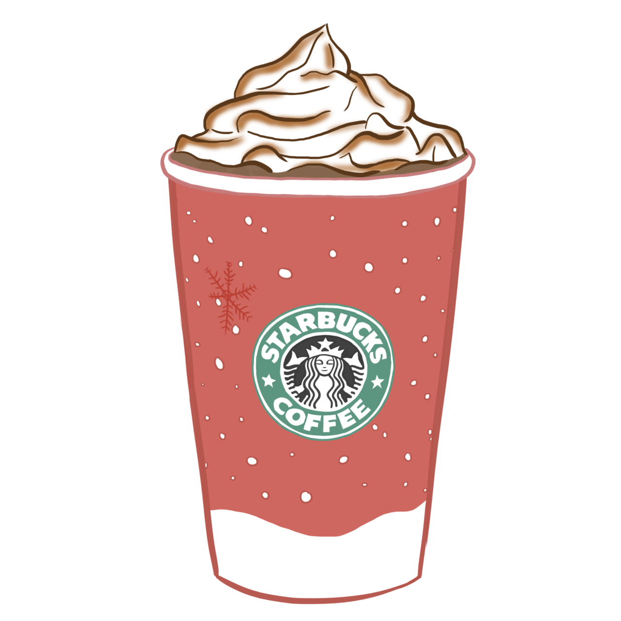 clip art freeuse Latte clipart tumbler starbucks. Images for transparent tumblr.