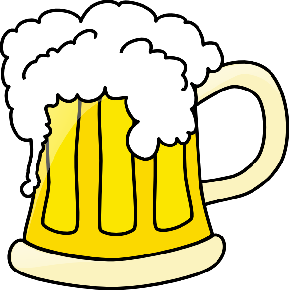 jpg library download Beer Mug Clip Art at Clker
