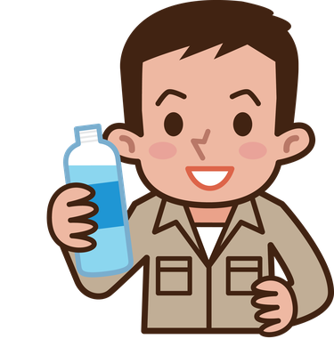 svg freeuse Worker water the arts. Drinking clipart