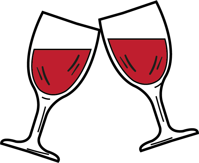 vector freeuse download Wine glass icon food. Drinking clipart