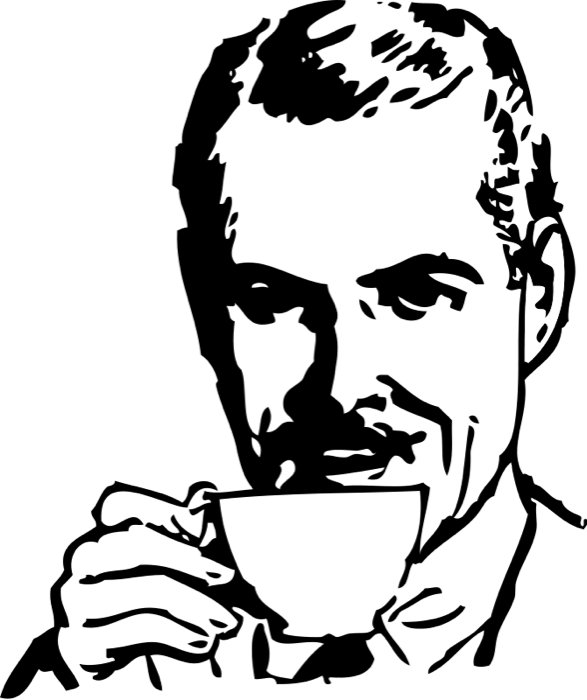 clip art royalty free Drinking coffee clipart. Tea and animated graphics