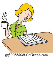clip black and white library Drinking coffee clipart. Clip art royalty free