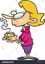 image black and white stock Image result for woman. Drinking coffee clipart