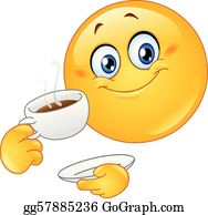 clip black and white library Clip art royalty free. Drinking coffee clipart