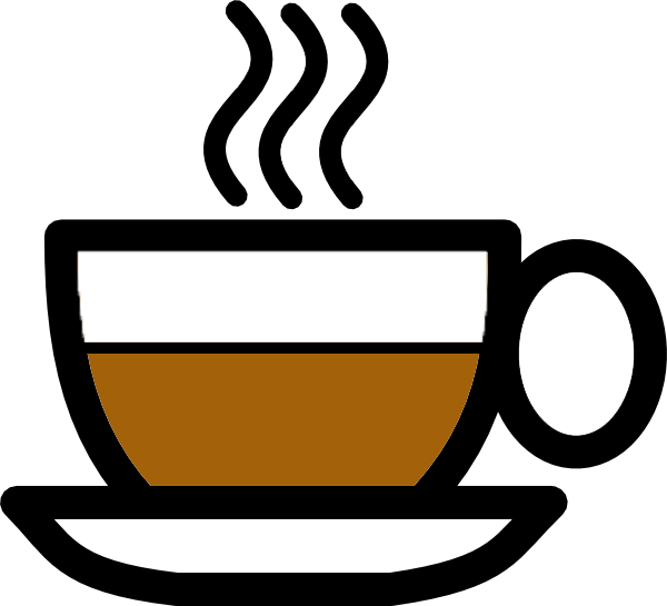 jpg royalty free stock Drinking coffee clipart. Cup at getdrawings com