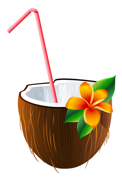 image library stock Exotic Coconut Cocktail PNG Clipart Image