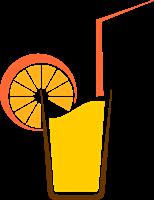 vector freeuse library Orange logo ai free. Drinks vector