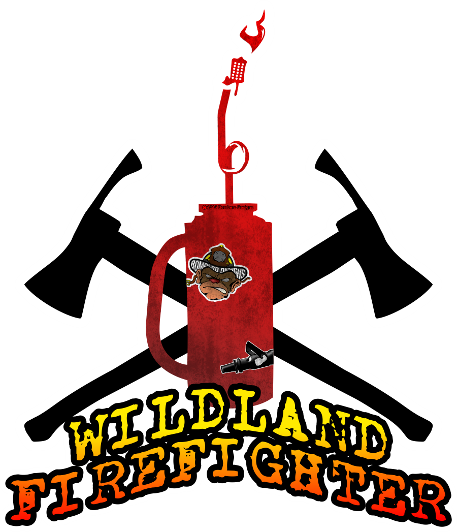 clip art freeuse library Wildland Firefighter