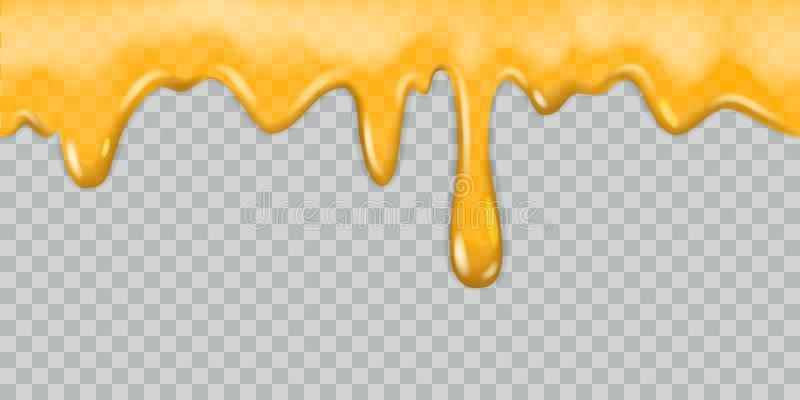 vector royalty free download Illustration about Dripping honey