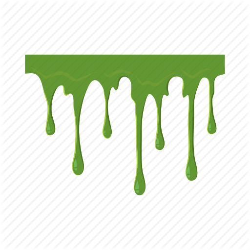 vector free library vector drips slime #118068328
