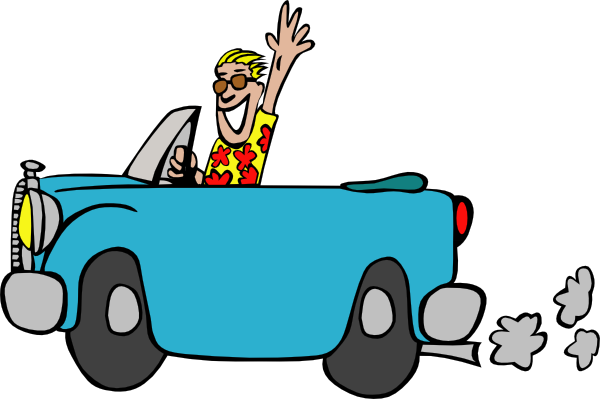 clipart free download Man Driving Car Clip Art at Clker